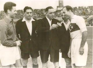 10 Aralık 1950'de Ankara'da oynanan Fransa maçında