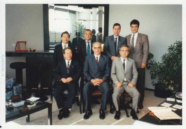 Çukurova grubu ile toplantı öncesi.