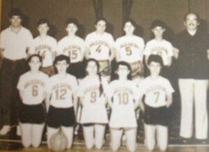 Ortaokul kız basketbol takımı